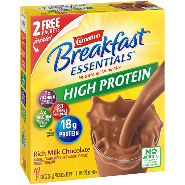 Carnation Breakfast Essentials® High Protein Nutritional Drink Mix